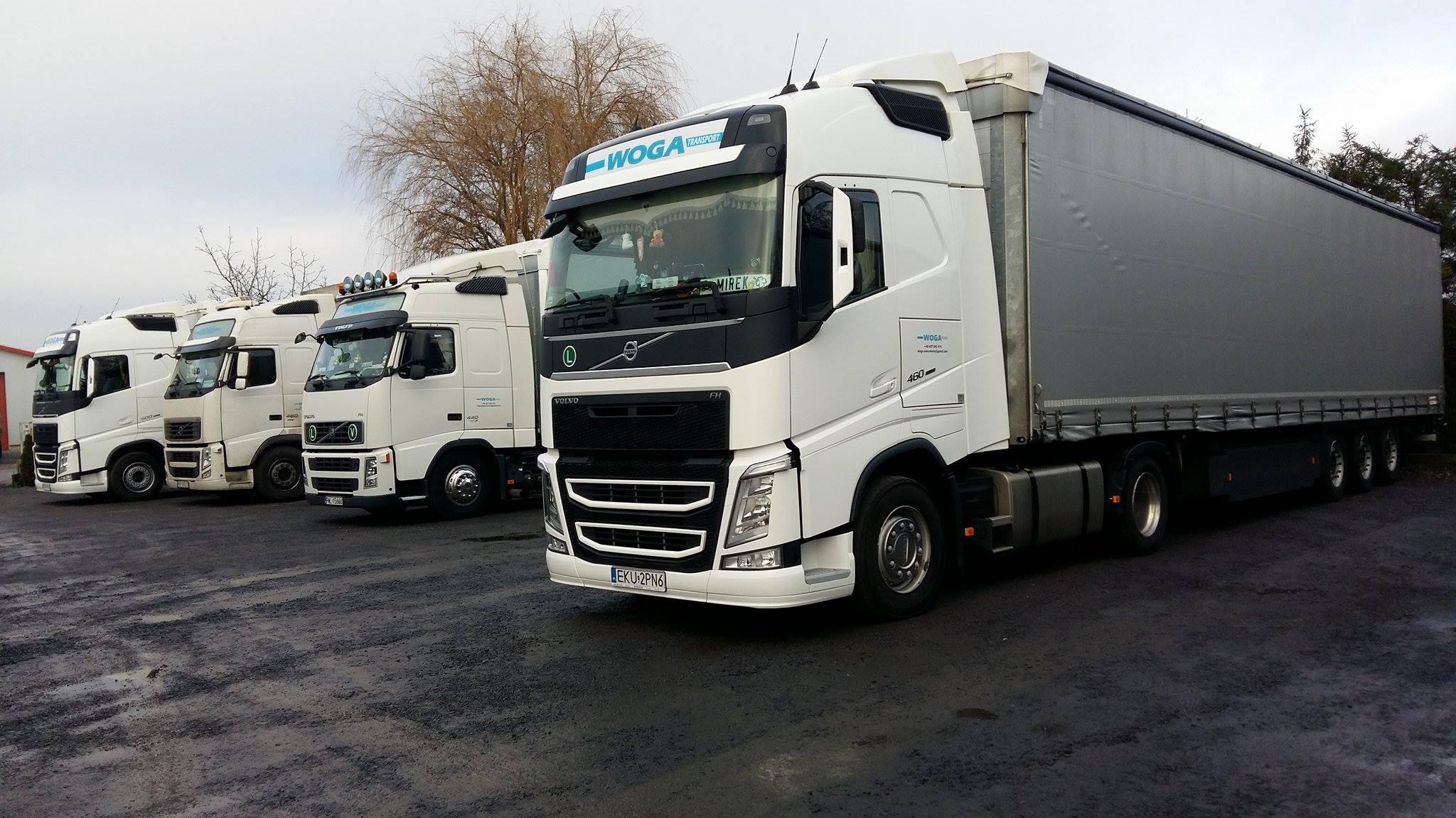 Transport na terenie Europy - nasze tiry
